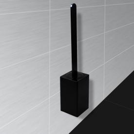 KOH-I-NOOR MATERIA wall-mounted toilet brush set black