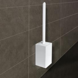 KOH-I-NOOR MATERIA wall-mounted toilet brush set white
