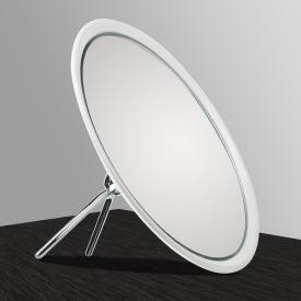KOH-I-NOOR TOELETTA freestanding beauty mirror 6x magnification, white