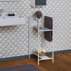 Koh-I-Noor WATSON floorstanding rack matt white