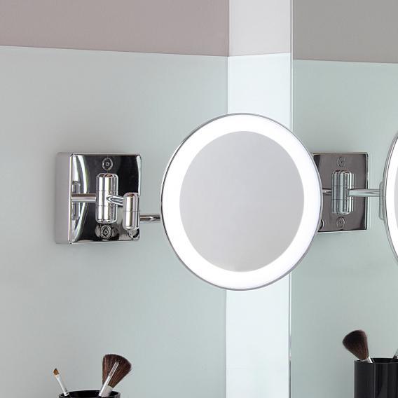 KOH-I-NOOR DISCOLO LED wall-mounted beauty mirror