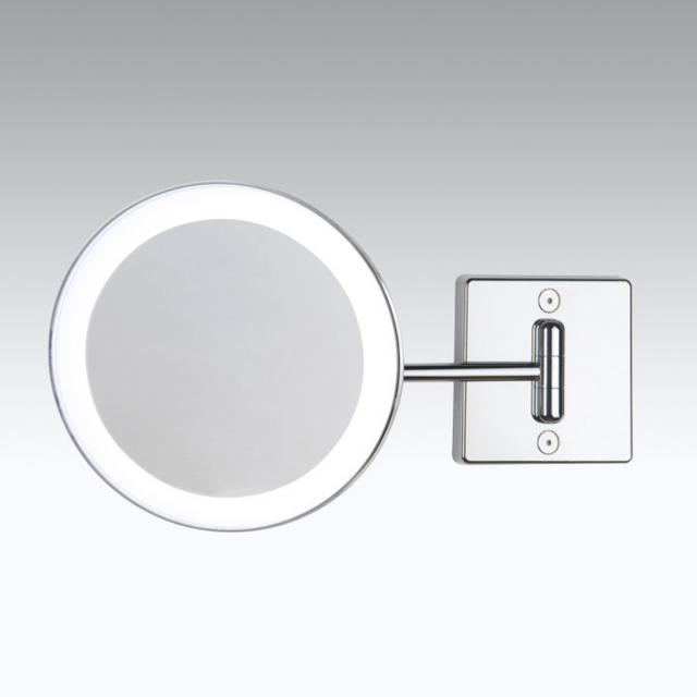 KOH-I-NOOR DISCOLO LED wall-mounted beauty mirror, inflexible arm, tiltable