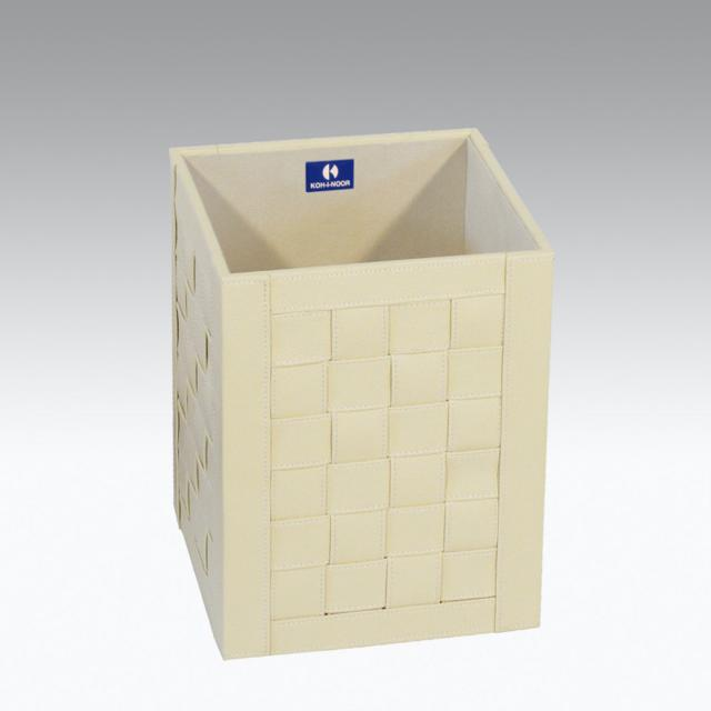KOH-I-NOOR INTERECCI waste paper basket cream