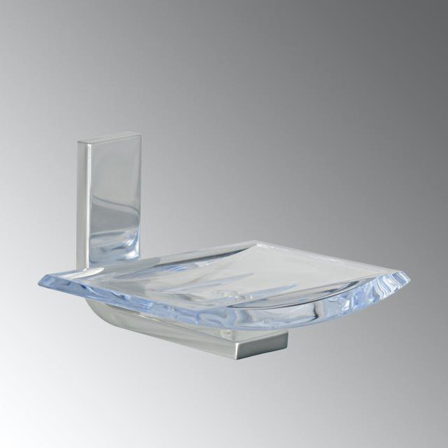KOH-I-NOOR MATERIA wall-mounted soap dish aluminium gloss