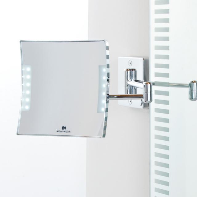 KOH-I-NOOR QUADROLO LED wall-mounted beauty mirror