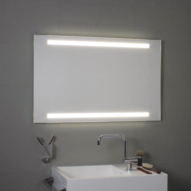 KOH-I-NOOR SUPERIORE E INFERIORE mirror with LED lighting