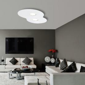 austrolux by KOLARZ Circle ceiling light, 2 heads