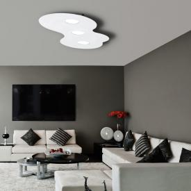 austrolux by KOLARZ Circle ceiling light, 3 heads