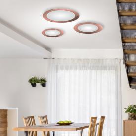 austrolux by KOLARZ Moon LED ceiling light, ribbed