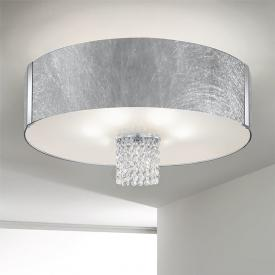 Kolarz Emozione ceiling light with classic crystals, chrome