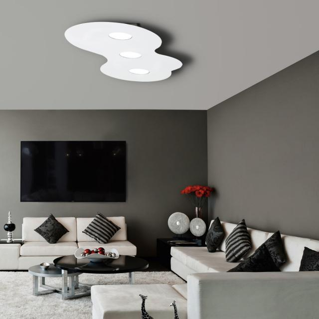 austrolux by KOLARZ Circle ceiling light, 3 head