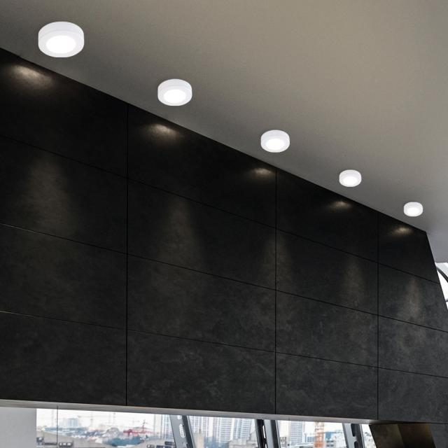 austrolux by KOLARZ Click Round ceiling light/spotlight, 1 head