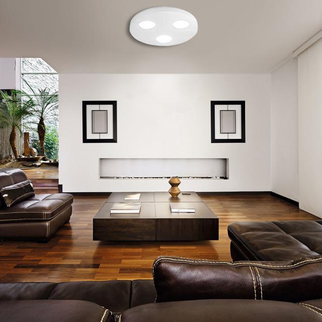 austrolux by KOLARZ Click Round ceiling light, 3 heads