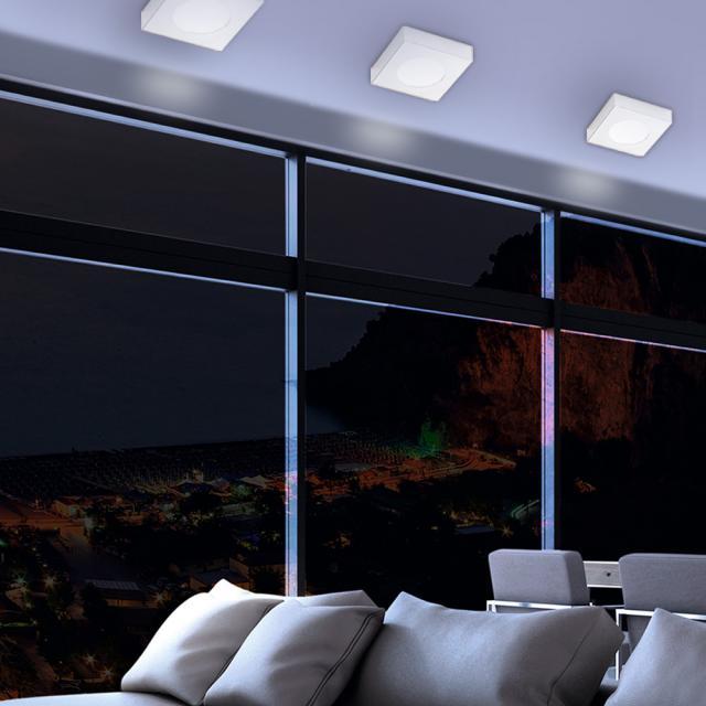 austrolux by KOLARZ Click Square ceiling light/spotlight, 1 head
