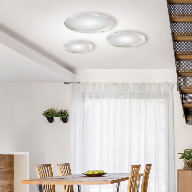 austrolux by KOLARZ Moon ceiling light, ribbed