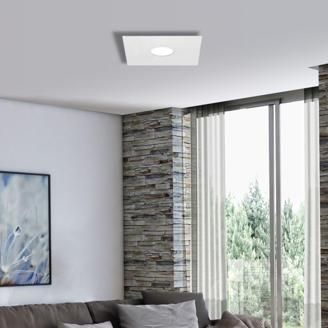 austrolux by KOLARZ Square ceiling light, 1 head