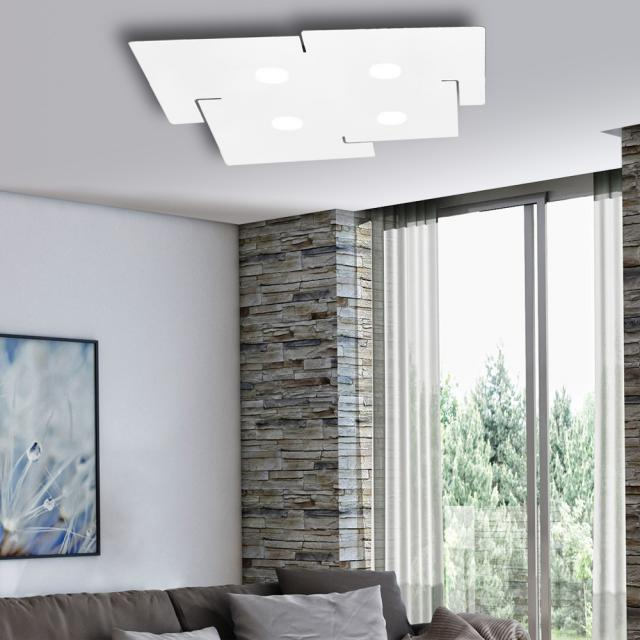 austrolux by KOLARZ Square ceiling light, 4 head