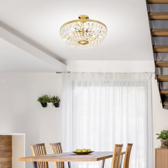 austrolux by KOLARZ Valerie ceiling light, 8 heads
