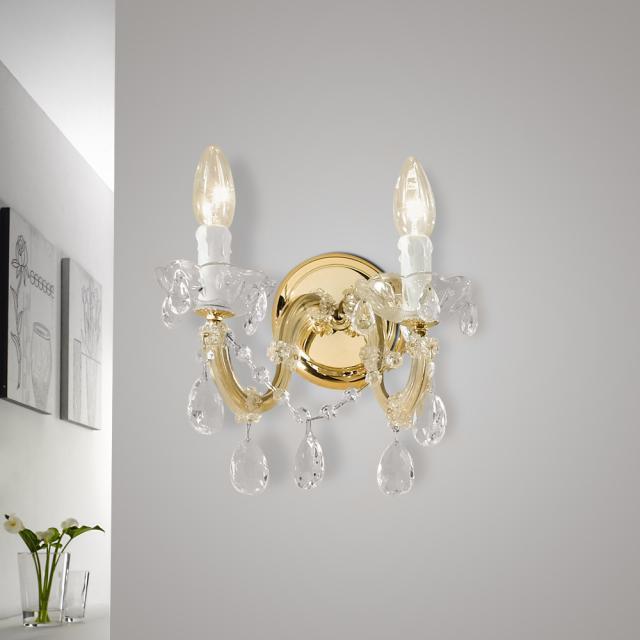 austrolux by KOLARZ Valerie wall light, 2 heads