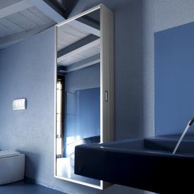 Kristalia Coat Box multi-purpose cabinet mirrored/matt aluminium