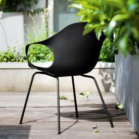 Kristalia Elephant armchair with steel legs