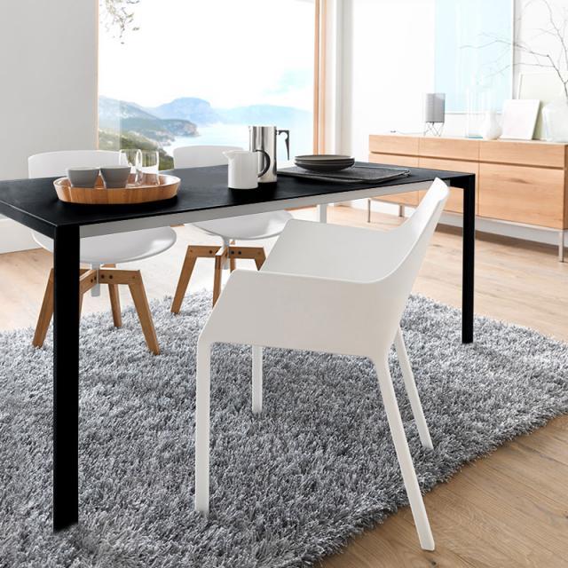 Kristalia Thin-K Aluminium dining table