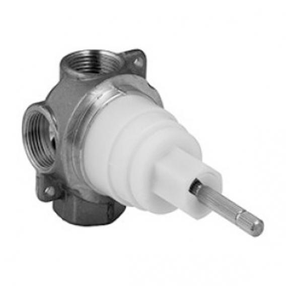 KWC concealed unit for multi-way stop valve, 1/2""