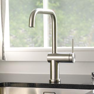 KWC Livello single lever kitchen mixer, under-window-installation