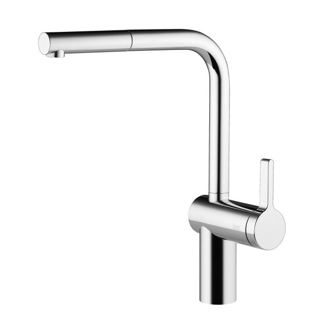 KWC Livello single lever kitchen mixer with pull-out spout