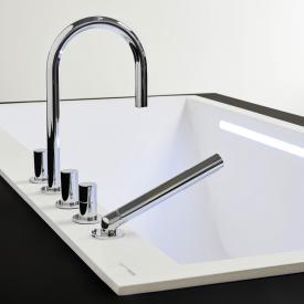 Kartell by Laufen five hole bath combination