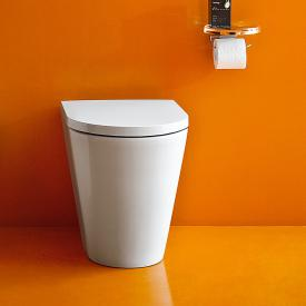 Kartell by Laufen floorstanding washdown toilet, rimless white, with Clean Coat