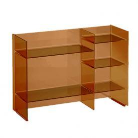 Kartell by Laufen shelf rack amber