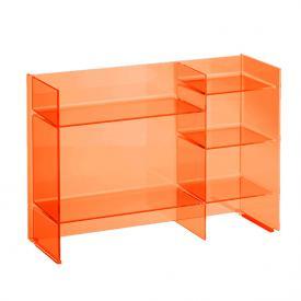 Kartell by Laufen shelf rack orange tangerine