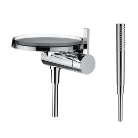 Kartell by Laufen single lever shower mixer with decorative disc