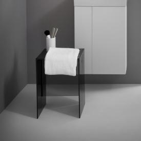 Kartell by Laufen stool smoke grey