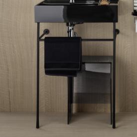 Laufen Kartell by Laufen towel rack for washbasins matt black