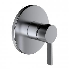 Kartell by Laufen trim set for concealed shower mixer brushed stainless steel