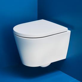 Kartell by Laufen wall-mounted washdown toilet compact, rimless matt white