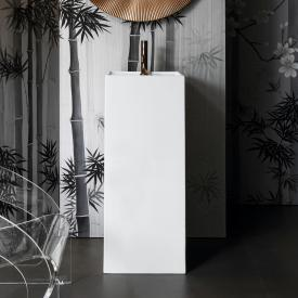 Kartell by Laufen washbasin, freestanding white, with 1 tap hole