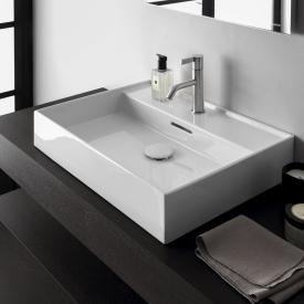 Kartell by Laufen washbasin white, with 1 tap hole, grounded