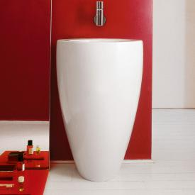 Laufen Alessi One washbasin white, with Clean Coat, without tap hole, without overflow