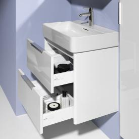 Laufen Base for Val vanity unit with 2 pull-out compartments front matt white / corpus matt white