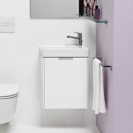 Laufen Base für Pro S Meuble sous lave-mains avec 1 porte Façade blanc brillant/corps du meuble blanc brillant