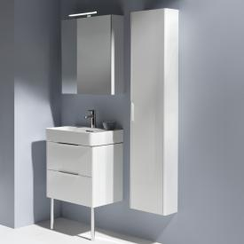 Laufen Base tall unit with 1 door front white gloss / corpus white gloss