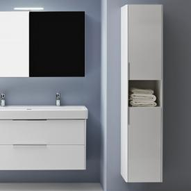 Laufen Base tall unit with 2 doors front white gloss / corpus white gloss