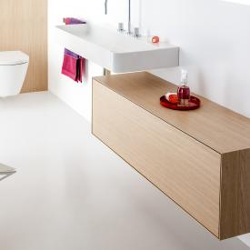 Laufen Boutique vanity unit with 1 pull-out compartment, without cut-out front light oak / corpus light oak