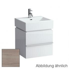 Laufen Case for Living City vanity unit with 1 pull-out compartment front whitewashed oak / corpus whitewashed oak