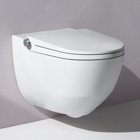 Laufen Cleanet Riva complete shower toilet set with toilet seat matt white