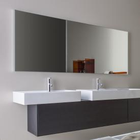 Laufen frame 25 mirror without lighting silver anodised