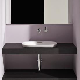 Laufen INO built-in washbasin matt white, with overflow
